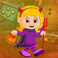 Free online flash games - G4K Beautiful Witch Girl Escape