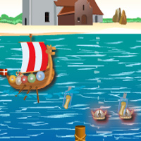 Free online flash games - The Viking Ship AllFunnyGames game - WowEscape