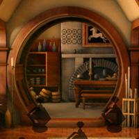 Free online flash games - Big Hobbit House Escape game - WowEscape