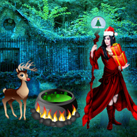 Free online flash games - Wizard Christmas game - WowEscape