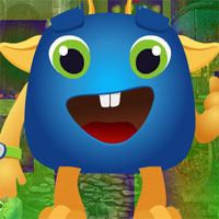 Free online flash games - Games4King Cartoon Creature Escape game - WowEscape