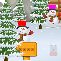 Free online flash games - Avm After Christmas Escape Game 8