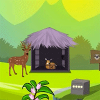 Free online flash games - Games2Mad Rescue the Fawn Escape