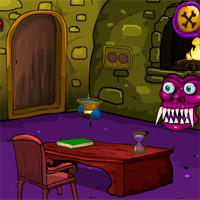 Free online flash games - Games4Escape Halloween Cave Door Escape