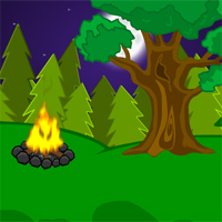 Free online flash games - Mousecity Dark Forest Escape game - WowEscape