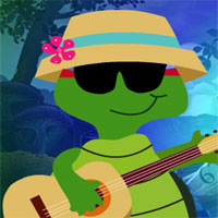 Free online flash games - G4K Guitar Playing Tortoise Escape