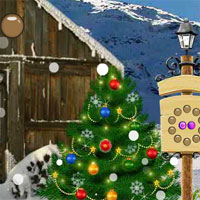 Free online flash games - Avm  Rescue Christmas Baby game - WowEscape