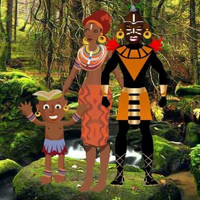 Free online html5 escape games - Tribes Family Escape HTML5