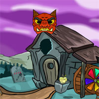 Free online flash games - G2J Flying Heart Rescue game - WowEscape