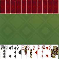 Free online flash games - Hearts Solitaireonline game - WowEscape