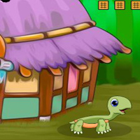 Free online flash games -  G2J Baby Kangaroo Escape
