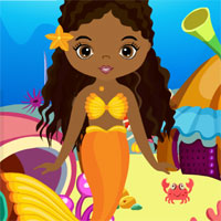 Free online flash games - G4K Cute Mermaid Girl Rescue game - WowEscape