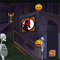 Free online flash games - Halloween Palace Escape game - WowEscape