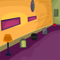 Free online flash games - KnfGame Colourful House Escape game - WowEscape