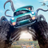 Free online flash games - Monster Trucks-Hidden Spots game - WowEscape