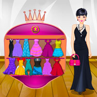 Free online flash games - Casandra Evening Dressup game - WowEscape