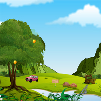 Free online flash games - Landscape Lawn  game - WowEscape