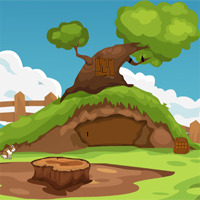 Free online flash games - KnfGame Cave Bear Rescue game - WowEscape