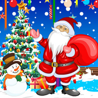 Free online flash games - Christmas Party Hidden Objects game - WowEscape