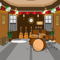Free online flash games - Escape From Musical Instruments Shop game - WowEscape
