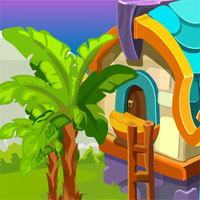 Free online flash games - Games4King Cute Girl Escape From Fantasy House game - WowEscape