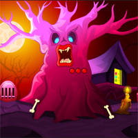 Free online flash games - MirchiGames Fantasy Halloween Escape game - WowEscape
