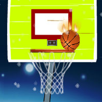 Free online flash games - Winter Basketball Free Throws game - WowEscape