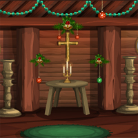 Free online flash games - Games4Escape Merry Christmas 2017 game - WowEscape
