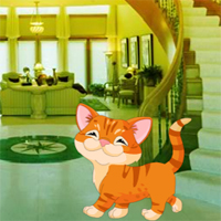 Free online flash games - Find The Child Cat From Luxury Room game - WowEscape