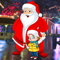 Free online flash games - Magical Santa Little Girl Rescue game - WowEscape