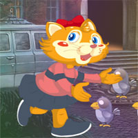 Free online flash games - G4K Cat Girl Escape game - WowEscape
