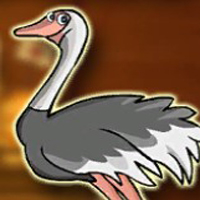 Free online flash games - G2J Masai Ostrich Escape