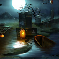 Free online flash games - EnaGames Darkwood Cemetery Escape game2rule
