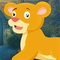 Free online flash games - G4k Plod Lion Rescue game - WowEscape