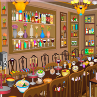 Free online flash games - New Year Dinner Objects game - WowEscape