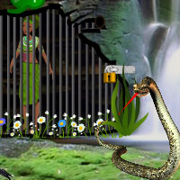 Free online flash games - Tribe Girl Escape game - WowEscape