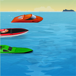 Free online flash games - Speedboat Racing game - WowEscape
