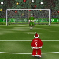 Free online flash games - Santa Soccer game - WowEscape