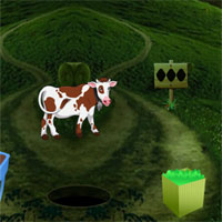 Free online flash games - 8bGames Calf Escape game - WowEscape
