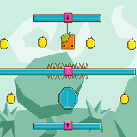 Free online flash games - Orange Gravity 2 Level Pack game - WowEscape