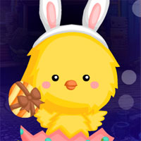Free online flash games - G4K Rescue The Chick From Easter Egg  game - WowEscape
