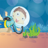 Free online flash games - GFG Genie Dolphin House 10 Door Escape game - WowEscape