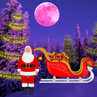 Free online flash games - Wowescape Christmas Light Forest Escape game - WowEscape