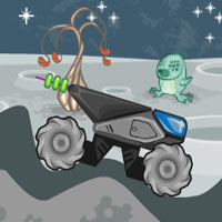 Free online flash games - Moon Truck game - WowEscape