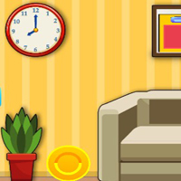 Free online flash games - G2J Small Yellow House Escape game - WowEscape