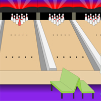 Free online flash games - Mission Escape Bowling Alley game - WowEscape