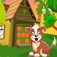 Free online flash games - G4K Naughty Dog Rescue game - WowEscape