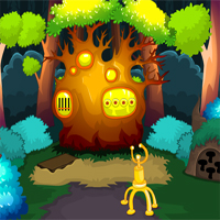 Free online flash games - MirchiGames Unknown Forest Escape game - WowEscape