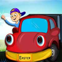 Free online flash games - Easter Eggs Truck game - WowEscape