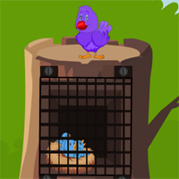 Free online flash games - Games2Mad Pink Bird Rescue game - WowEscape